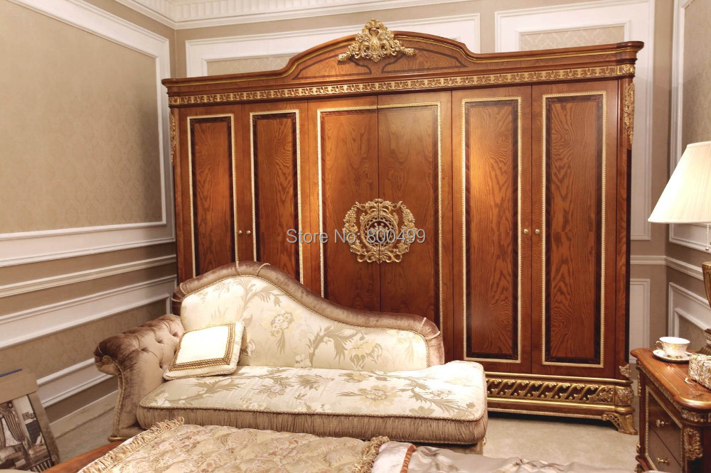 2014 hot sale real bedrooms furniture bedroom wardrobe set for Muebles para el hogar