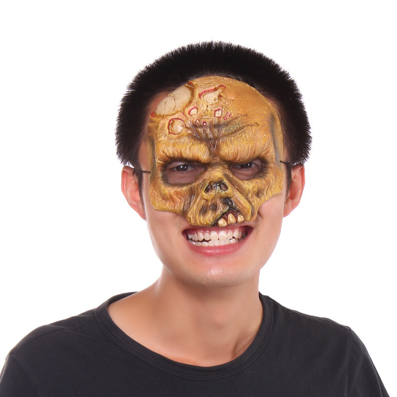 hight quality festival Halloween Ghost Terrorist mask Halloween party supplies adult stage performance props horror mask(China (Mainland))