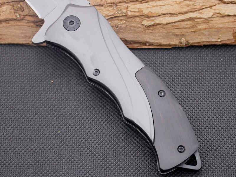 Buy Folding Knife Strider Survival Knifes 440C Steel Blade Steel Handle Pocket Hunting Tactical Knives Camping Outdoor EDC Tools y60 cheap
