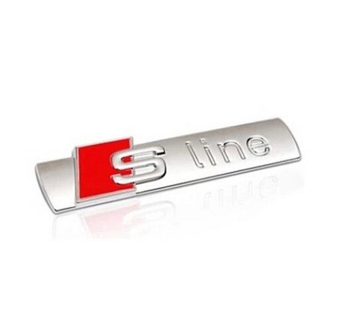 Voiture chrom embl me badge autocollant d coration logo for Chrome line exterieur