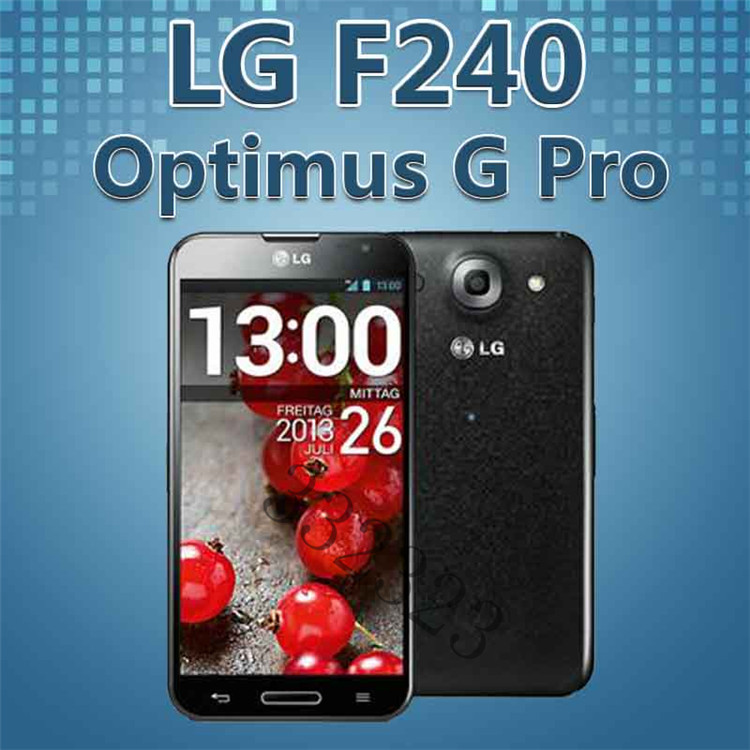 F240 Unlocked Original LG Optimus G Pro F240L F240s F240k Android phone Quad core 2G RAM 32G ROM 13MP GPS WIFI 4G Refurbished(China (Mainland))