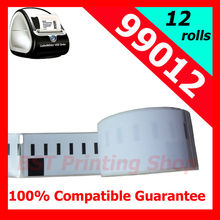 12x Rolls Dymo compatible labels 99012,89x36mm, 260labels/roll