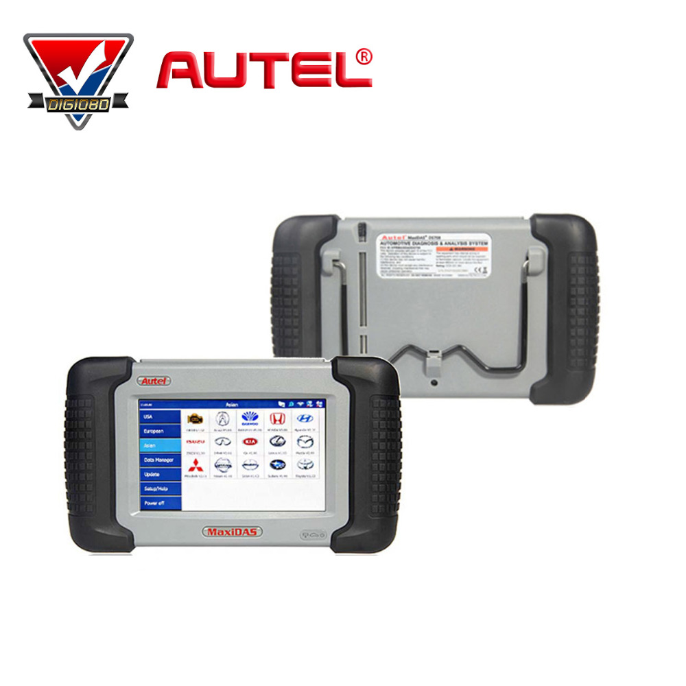Autel MaxiDAS DS708 Full System Automotive Diagnostic and Analysis System with live data ECU programming Key Coding TPMS Pro(China (Mainland))