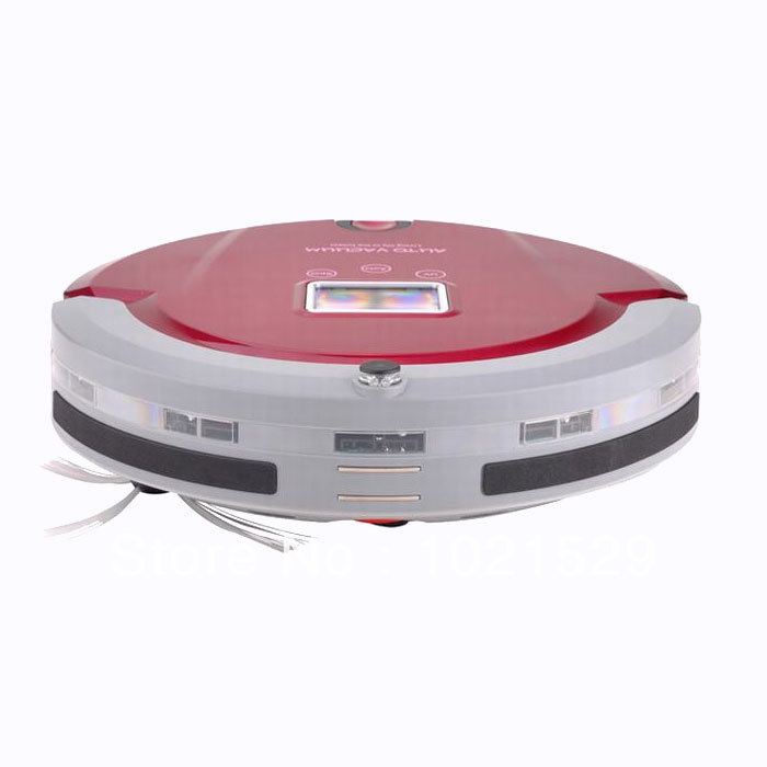 Self-charging Intelligent Mini Robot Vacuum Cleaner A320 Remote Controller Can Operate The Working Machine(China (Mainland))