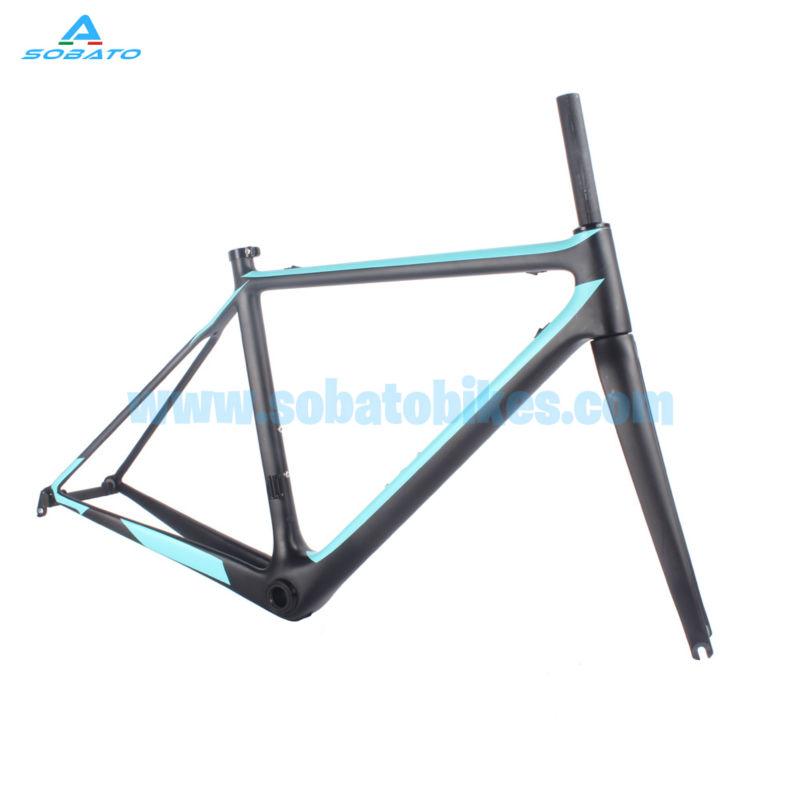 Sobato carbon frame OEM bike frame carbon road bicicleta carretera cuadros bicicleta carbono carbon road bike full carbon 51CM(China (Mainland))