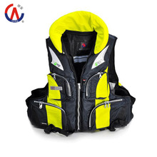 2015 New Professional Equipped with Life Saving Whistle Adults Multi-functional Life Vest Fishing Vest Life Jacket High Quality(China (Mainland))