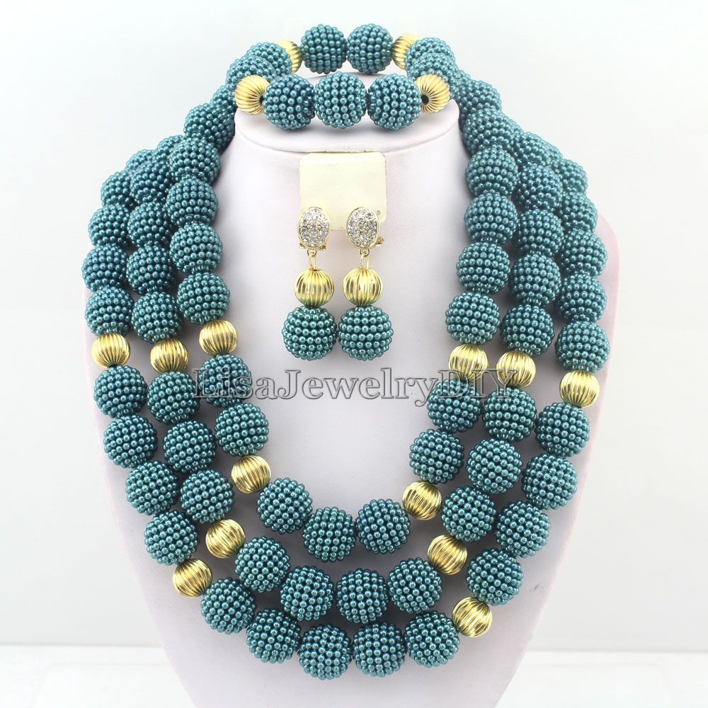 Buy latest african beads jewelry set for Buying jewelry on aliexpress