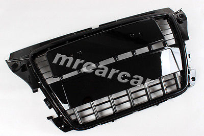 Wholesale ABS Car Bumper Grille, Front Grille S3 Style Black Honeycomb Grill Fit For Audi A3 Non-S Bumper 08-11(China (Mainland))