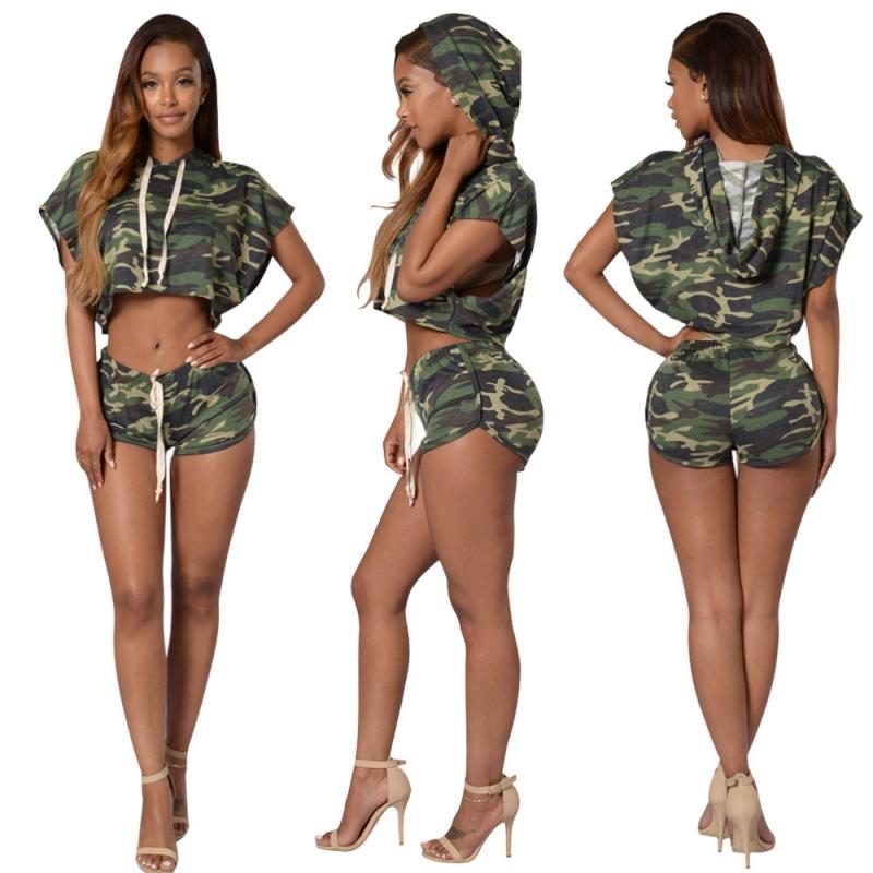 women hoodies suits two piece set 2016 fashion summer. Black Bedroom Furniture Sets. Home Design Ideas
