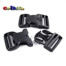 """5pcs Pack 2"""" Dual Adjustable & Security Double Lock Buckle for Tactical Backpack Belts #FLC347-50(China (Mainland))"""