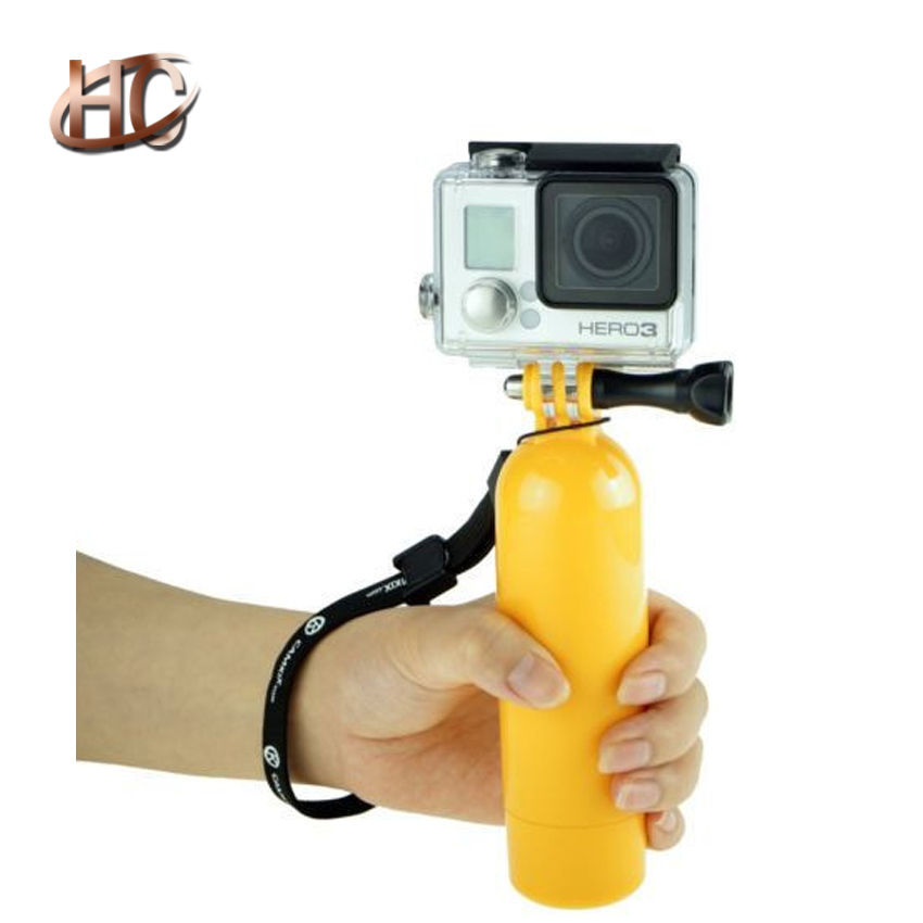 HOT SALE Brand New Floating Float Bobber mini Monopod Mount Grip Go pro Accessories for GoPro