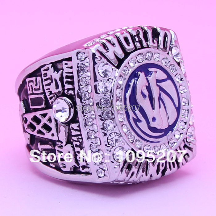 2011 Dallas Mavericks Basketball championship ring gold ring 18K(China (Mainland))