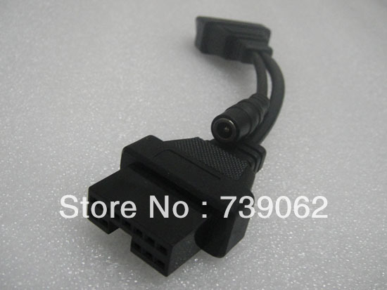 OBD2 OBDII cable MITSUBISHI 12PIN 16pin Adapter Connector Diagnostic scanner - Vaybay Electron Technology Co., Ltd. store