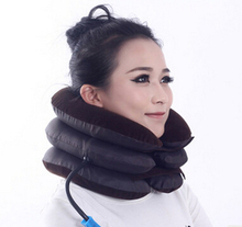Hot selling Cervical traction inflatable neck massager household equipment health care massage neck care