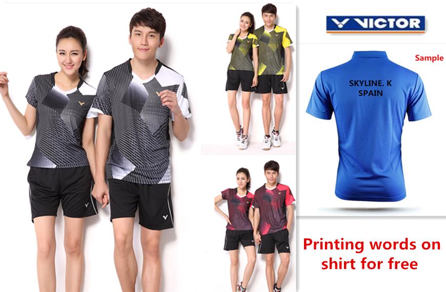 For Wholesale new badminton shirt badminton clothes table tennis shirt table tennis clothes T shirt(China (Mainland))