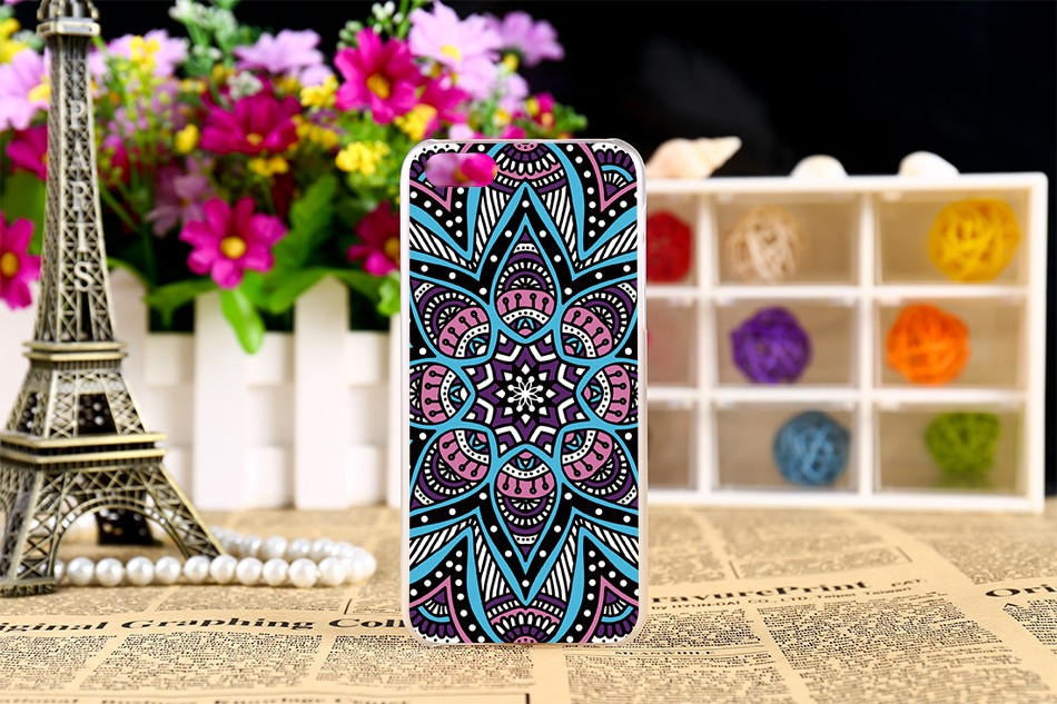 Hard Plastic Phone Cases For Apple iPhone 5C iphone5C Case Protection Shell Cover Colors Flowers Painted patterns
