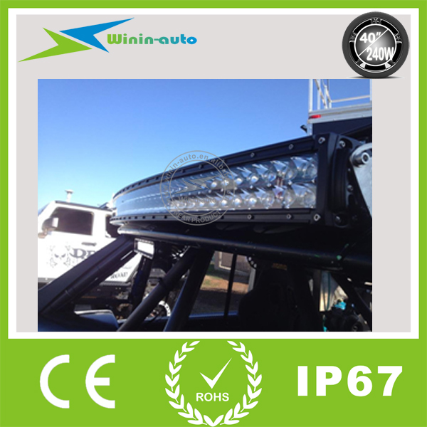 """Big Discount 240W led driving light bars Curved 40"""" 240w Epistar led light bars for heavy duty 240w WI9029-240 on sales(China (Mainland))"""