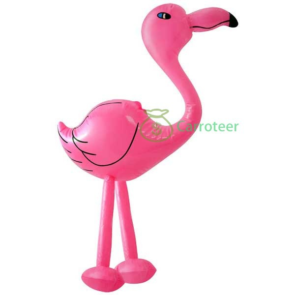 Carroteer Shop Party Inflatable Flamingo Hula Tropical Animal Inflate Toy(China (Mainland))