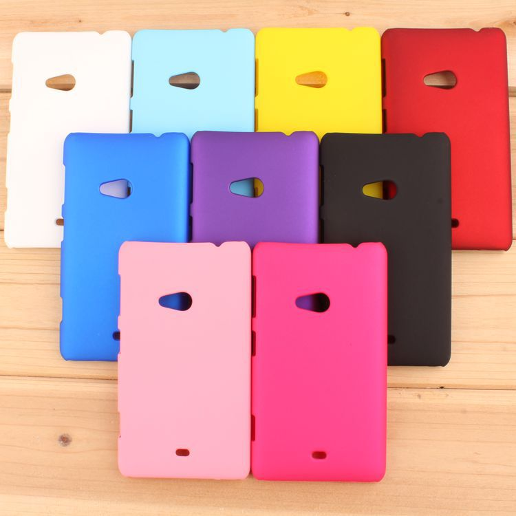 High Quality Frosted Matte Hard Back Cover Case For Nokia Lumia 625 Plastic Rubber Mobile Phone Bags(China (Mainland))