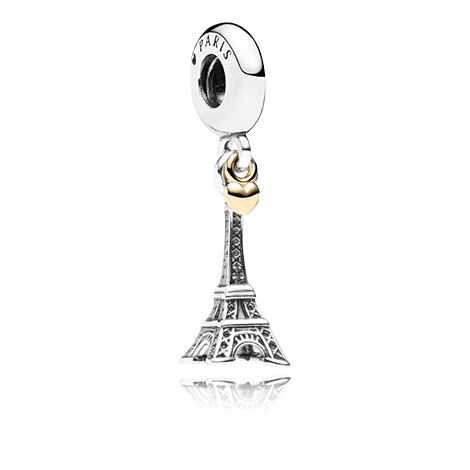 wholesale 1pc 100% 925 sterling silver pendant charm beads pendant female charm the Eiffel Tower(China (Mainland))