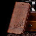 High Quality Leather Flip Wallet Case for Samsung Galaxy S5 S6 S7 edge iPhone 5s 6