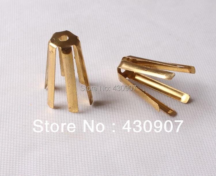 Free Shipping 50pcs Universal Brass Shaft Shim Adapter Fits .335 to .350, .355 to .370(China (Mainland))