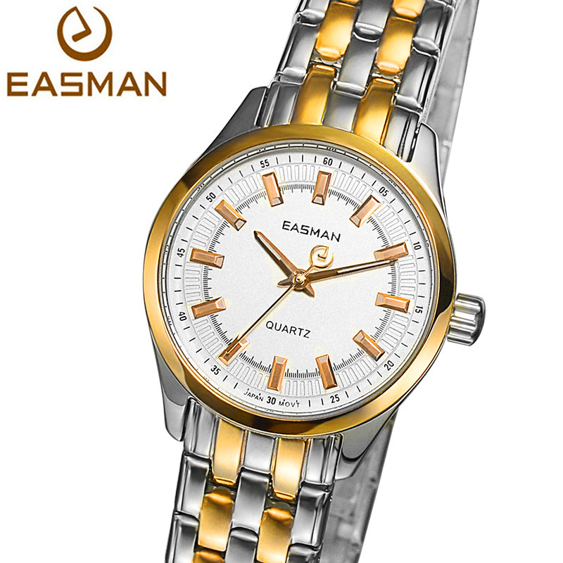 EASMAN Watch Top Brand Luxury Women Quartz Watch Gold Watches 2015 Stainless Steel High Quality Wristwatches Watch<br><br>Aliexpress