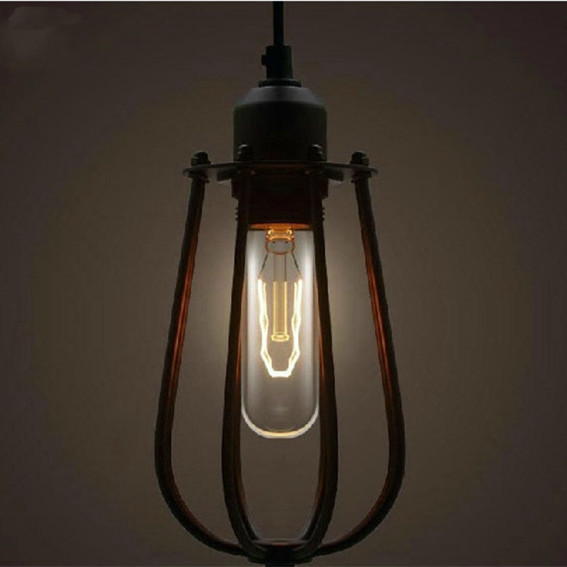 Vintage Industrial Edison pendant lamp Black Metal Pendant Lights Bar Coffee shop PL96(China (Mainland))