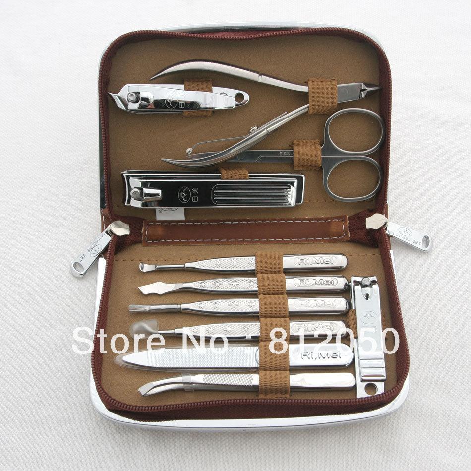 Гаджет  RiMei High Quality 11 in 1 Nail Art Care Tool Manicure set 70087 None Красота и здоровье