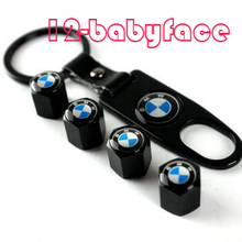 2015 Free Shipping Car Covers Tpms M Power Car Wheel Type Tire Air Valve Caps for Bmw 1 3 5 6 7  Wrench Key Chains Ring Keychain(China (Mainland))