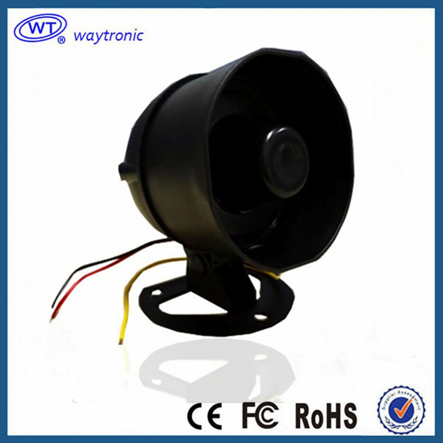 10W Mini Horn Alarm Outdoor Sound Speaker Voice Announcer for Voice Broadcast System Built in SPI Flash Memory Free Shipping(China (Mainland))