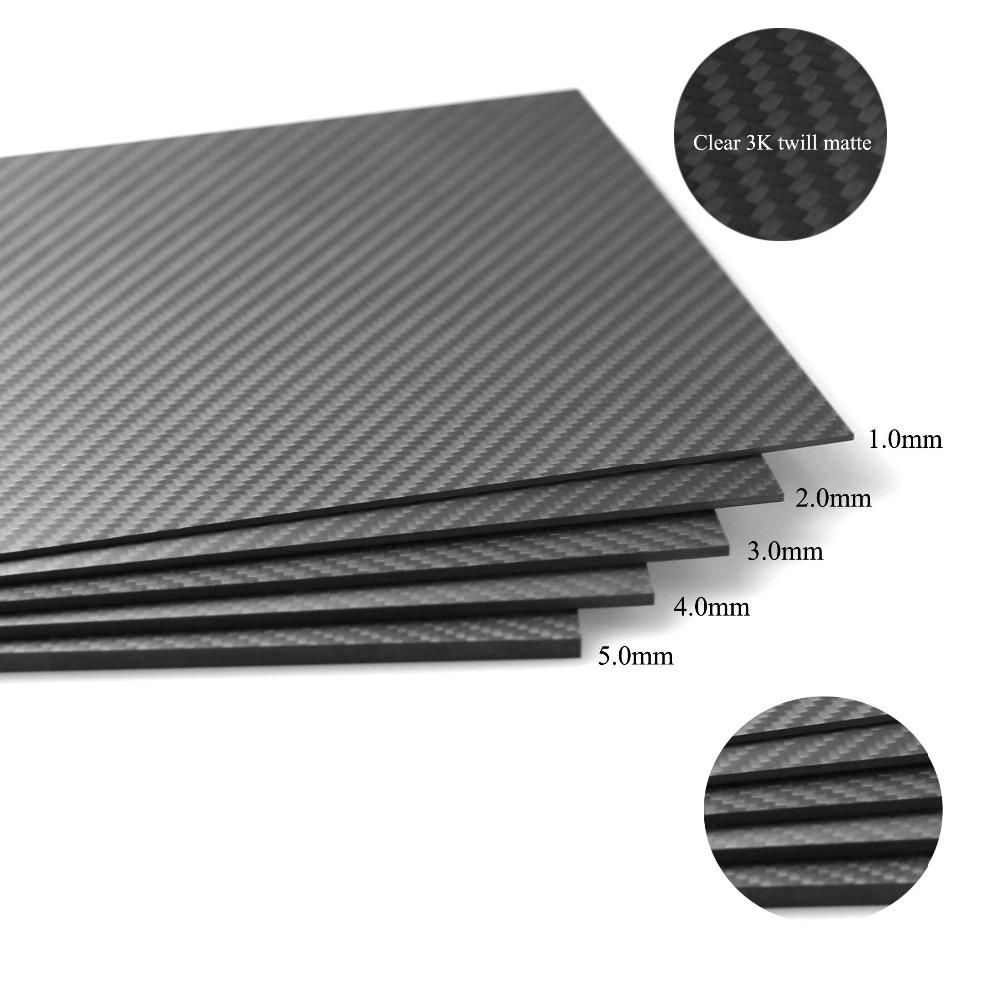 HCF005  1.5mm 400X500mm Carbon Fiber Sheet,Carbon Fiber Plate for RC Drone<br><br>Aliexpress