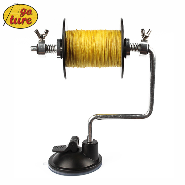 Goture Fishing Tackle Accessory Line Bobbin/Spool Winder Winding Device 14CM 130G (Fishing Line Not Included)(China (Mainland))