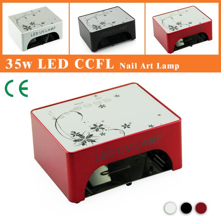 LKE 35W CCFL  LED Nail UV Gel Curing Lamp Economic and Durable Multifunction Manual and automatic nail dryer(EU AU US UK Plug)(China (Mainland))