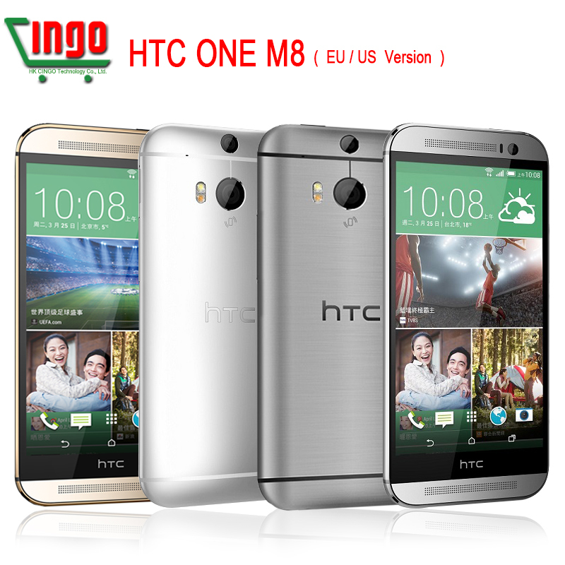 """HTC m8 New Unlocked Original HTC One M8 16/32G smartphone 5"""" Android 4.4.2 4G LTE Quad Core 2.5GHz WIFI GPS 4MP 3Cameras Phone(China (Mainland))"""