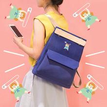 Buy Canvas Backpack Women Cute School Backpacks Teenage Girls School Shoulder Bags Rucksack Bagpack Female Schoolbag mochila for $16.58 in AliExpress store