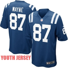 100% Stitiched,Indianapolis s,Andrew Luck,Reggie Wayne,for youth,kids,camouflage(China (Mainland))