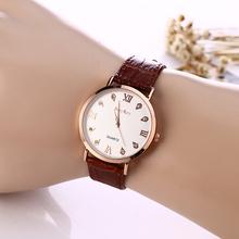 Watch Women Leather Quartz Watches McyKcy Brand Luxury Popular Watch Women Casual Fashion Wristwatches Relogio feminino