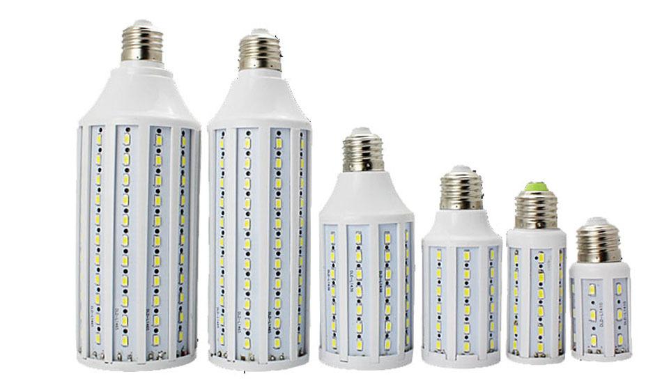 E27 B22 E14 E40 LED Corn Bulb Lamp Light 10w 15w 25w 30w 40w 50w 42 60 84 98 132 165 leds AC 220V SMD 5730 5630 LED Bulbs Lamps(China (Mainland))