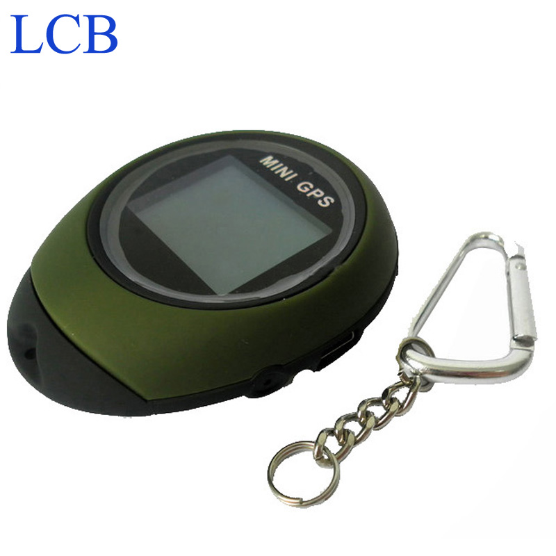 Shipping By DHL 10pcs/lot Handheld Keychain GPS Tracker Mini Location Finder For Outdoor Sport(China (Mainland))