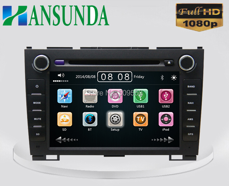 8 Inch Car DVD Player Great Wall H5 H3 3G Host Radio GPS Navigation Bluetooth TV 1080P Ipod Free Maps - Hansunda Multimedia Co., LTD store