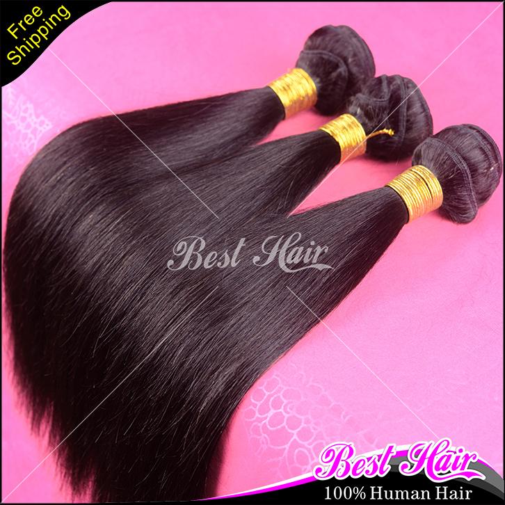 "Mocha Hair Products Russian Hair Silky Straight 3pcs/lot 7A Russian Virgin Hair 100% Human Hair Extension 8""-30"" Free Shipping(China (Mainland))"