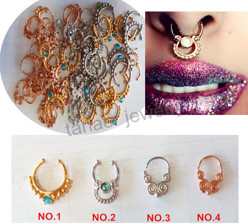 NEW 2015 hot sale 50PCS free shipping real/fake septum piercing for body piercing jewelry<br><br>Aliexpress