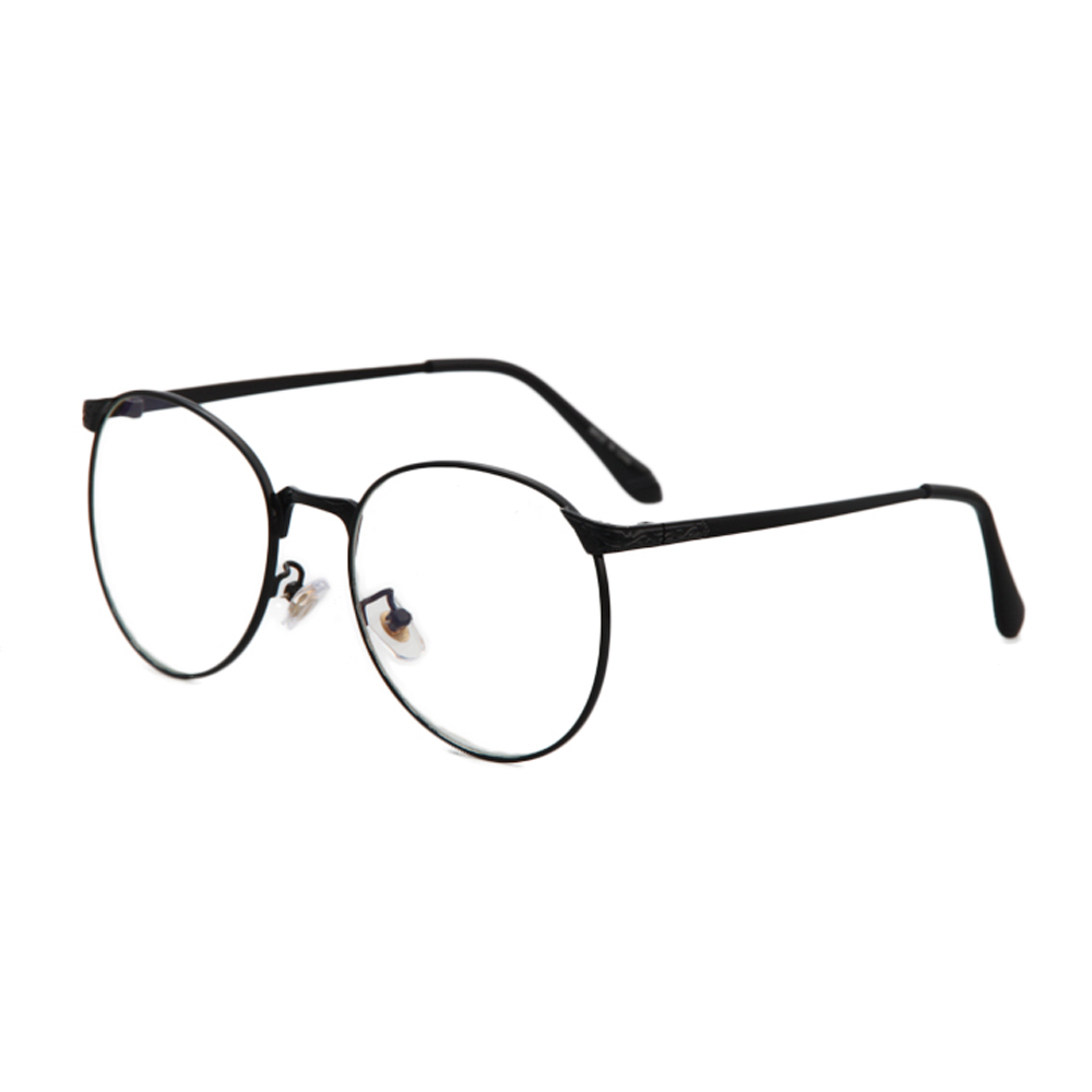 Metal Eyeglass Frame Materials : Retro Round Metal Frame Eyeglasses For Men & Women Clear ...