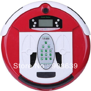 4 In 1 Newest Multifunctional Wet&Dry Robot Automatic Floor Sweeper+0.7L Rubblish Box+ Free Shipping