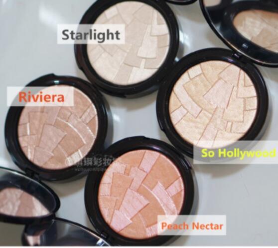 (60pcs/lot)ABH Beverly Hills illuminators Bronzers & Highlighter Starlight / Peach Nectar / Riviera / so hollywood Face powder(China (Mainland))