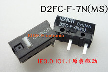 10PCS/LOT New Authentic OMRON Mouse Micro Switch D2FC-F-7N Mouse Button Fretting(China (Mainland))