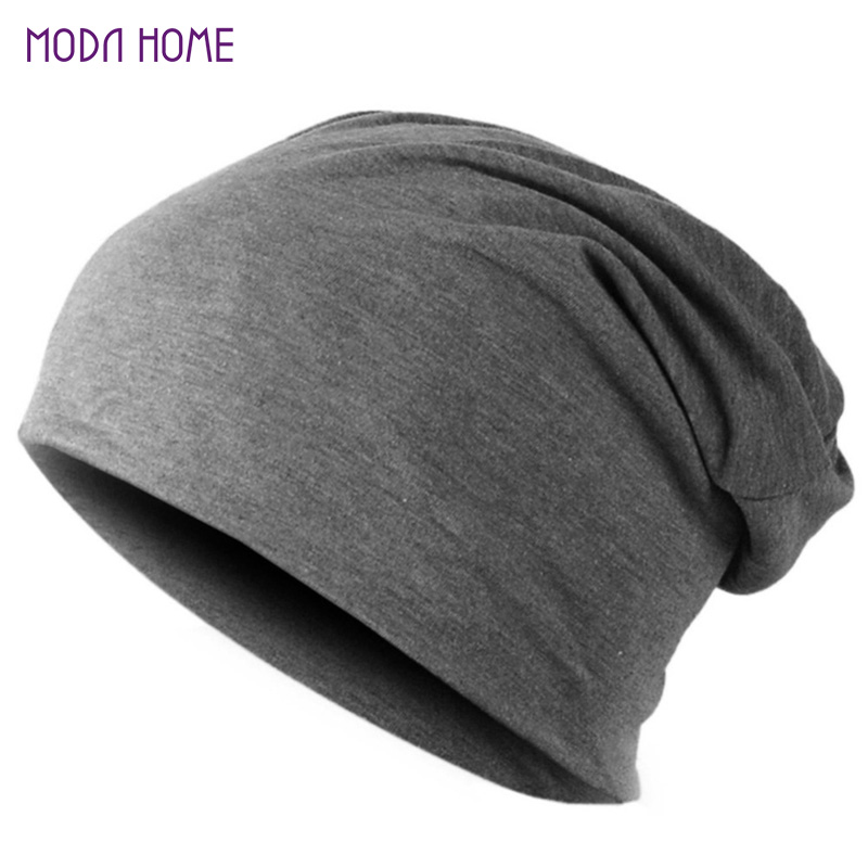 Spring Fashion Men Knitted Winter Cap,Casual Beanies for Men Solid Color Hip-hop Slouch Skullies Bonnet Unisex Cap Hat Gorro(China (Mainland))