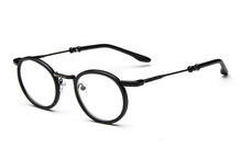2015 New Arrival Retro Metal Glasses Frame Round Fashion Young Glasses for Women Men Outdoor Eyewear