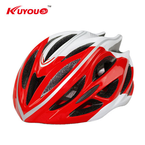 4 Color KUYOU Brand Summer style High-density EPS Liner High-sided velvet Lining One Piece Cycling Helmet for Boys/Girls 039(China (Mainland))